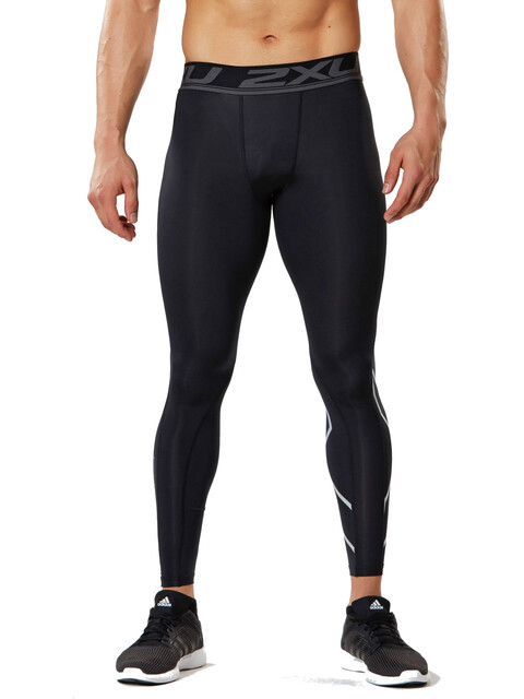 2XU Accelerate Compression Running Pants Men black/silver